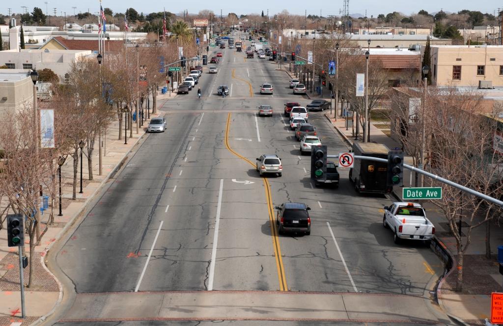 Lancaster Blvd Before