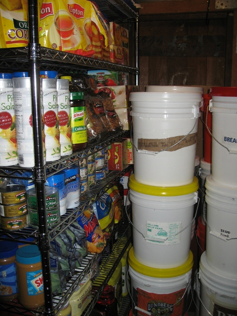 Pantry storage room